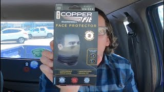 Copper fit face protector review and unboxing