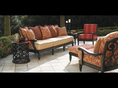 High end Patio Furniture - YouTube