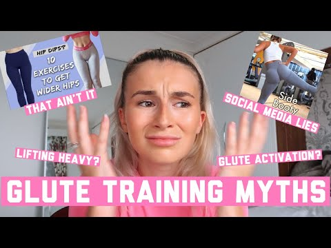 THE TRUTH ABOUT HIP DIPS | GLUTE TRAINING MYTHS | HOW TO GROW YOUR GLUTES EP 3