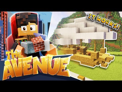 Minecraft: The Avenue SMP! - Building The AIRSHIP!
