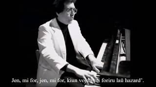 Máté Péter – Elmegyek – Esperanto – subteksto