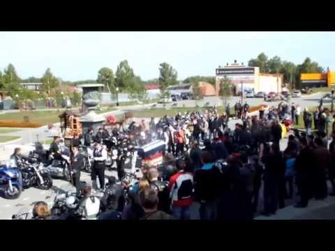 видео: Прощание с Димой 07.09.2014