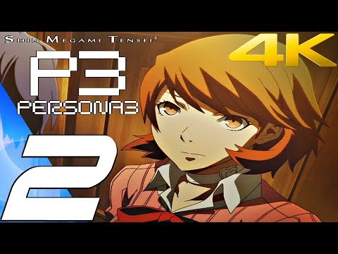 Persona 3 FES - Gameplay Walkthrough Part 2 - Tartarus [4K 60FPS]