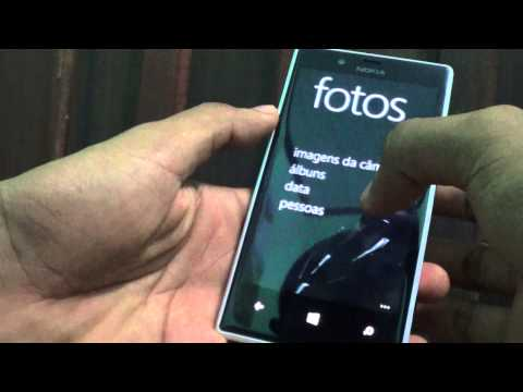 Captura de Tela ( Print) - Windows Phone - Lumia 720 - pt BR
