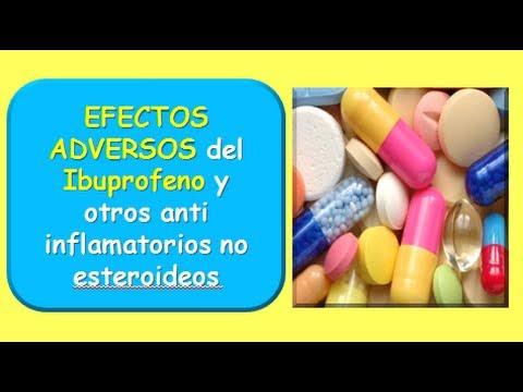 Efectos adversos del IBUPROFENO y otros AINES - YouTube