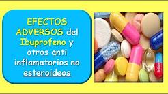 Efectos adversos del IBUPROFENO y otros AINES
