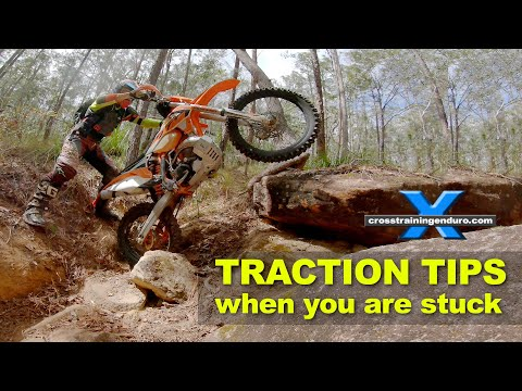 TRACTION TIPS WHEN YOU'RE STUCK: Cross Training Enduro