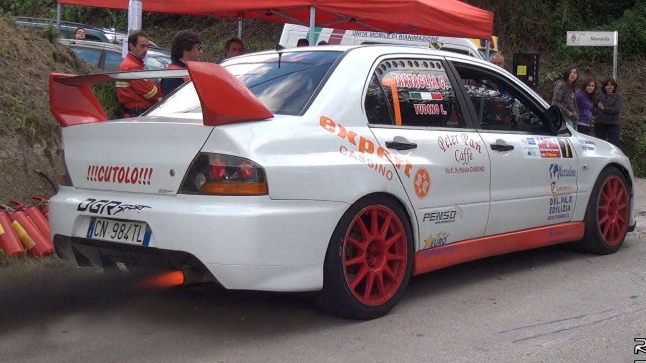 Rally Cars Crazy Sounds - Lancer EVO, Impreza, 206 WRC & more ...
