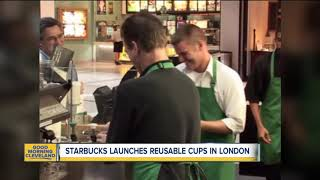 Starbucks testing reusable cups
