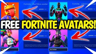 HOW TO Get NEW Fortnite AVATARS! *FREE* PS4 NEW Avatars! (Fortnite FREE Avatars) 2019