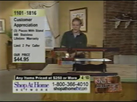 Home Shopping Network knife demonstration gone wrong