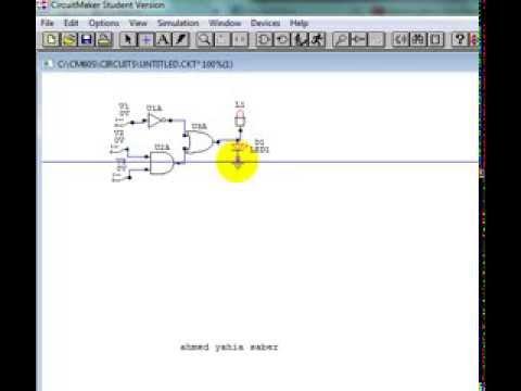 Circuit Maker .. simple circuit - YouTube