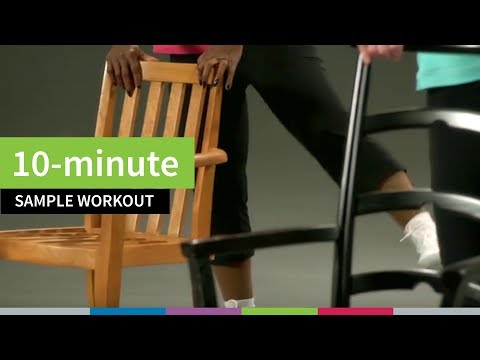 10-minute Sample Workout for Older Adults from Go4Life