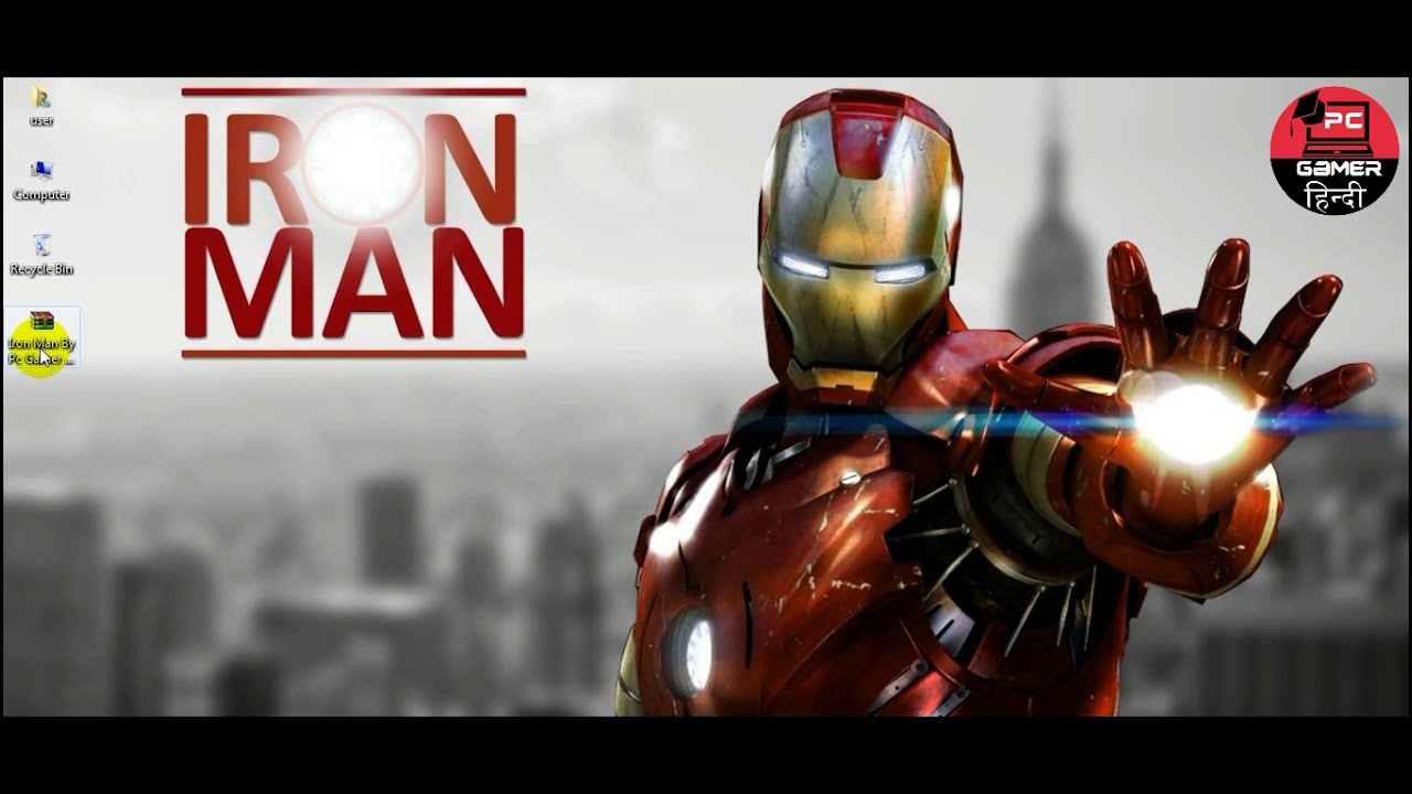 How to Download Iron Man Game Highly Compressed For Pc Download and install in Hindi