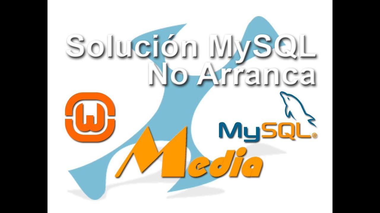 Solucion   wamp server icono se queda en naranja, mysql no arranca