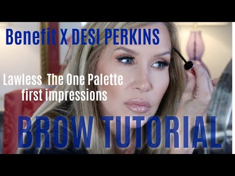 Full Brow Tutorial with Benefit X Desi Perkins * Lawless The One Palette thumbnail