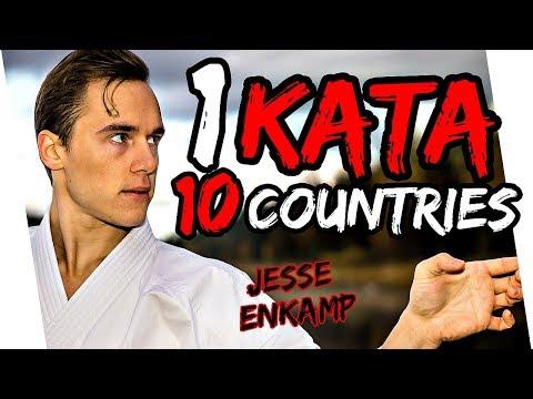 1 KATA 10 COUNTRIES — Jesse Enkamp