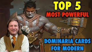 MTG  - Top 5 Most Powerful Dominaria Cards for Modern - Magic: The Gathering