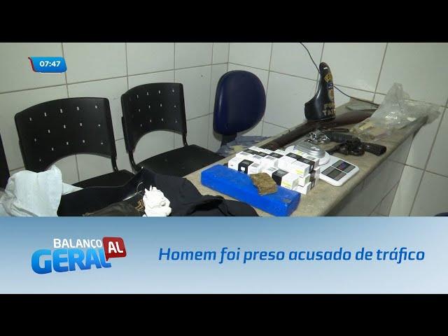 Homem foi preso acusado de tráfico no Pinheiro