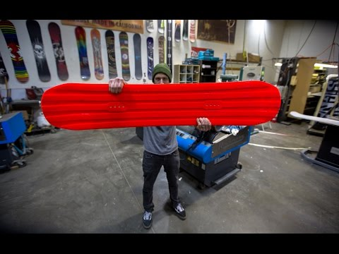 Every Third Thursday : Pour It On : Urethane Snowboard