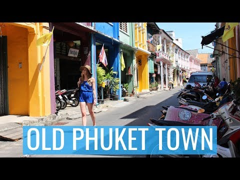A Day In Old Phuket Town | Kathryn Tamblyn | Thailand Vlog