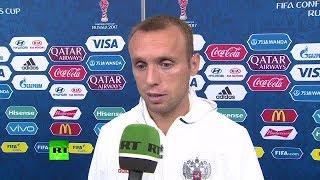 Глушаков прокомментировал поражение в матче с командой Мексики
