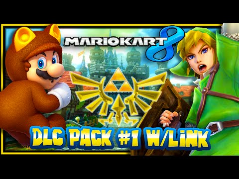 Mario Kart 8 Wii U - (1080p 60FPS) DLC Pack #1 - Triforce &