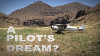 Video-Search for backcountry flying
