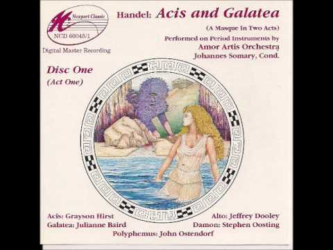"""G. F. Handel - """" Wretched Lovers""""  - (from Acis and Galatea) - Amor Artis Orchestra"""