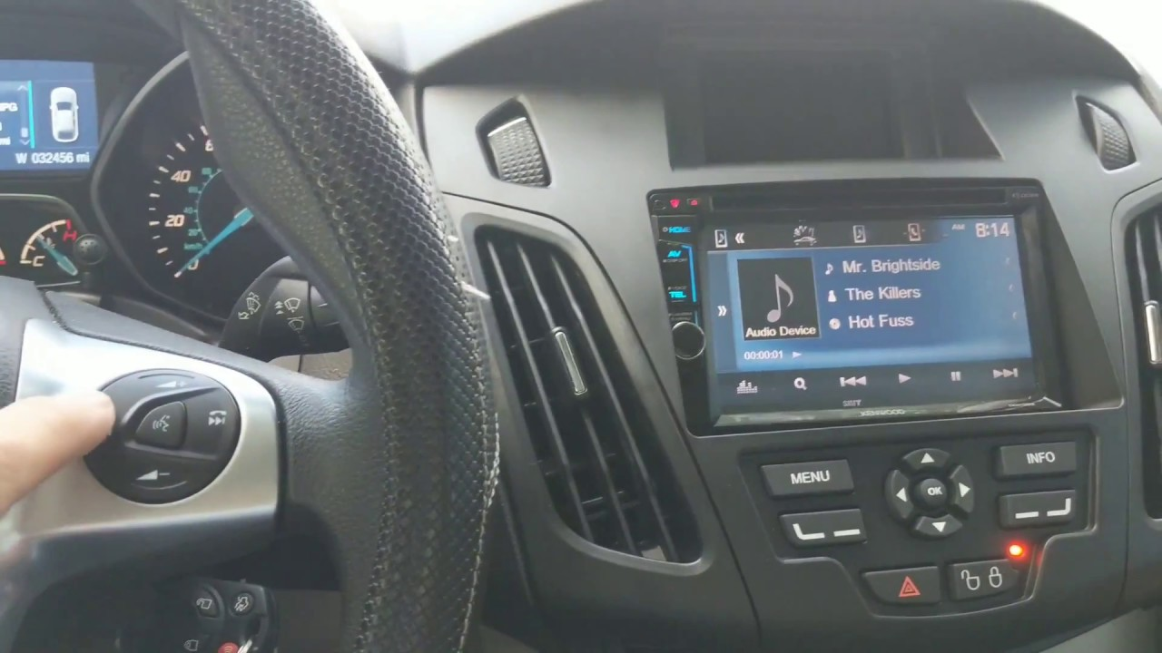 Ford Focus Car Stereo Replacement