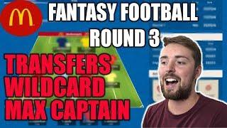 ROUND 3! WORLD CUP FANTASY FOOTBALL 2018! MCDONALDS FIFA!