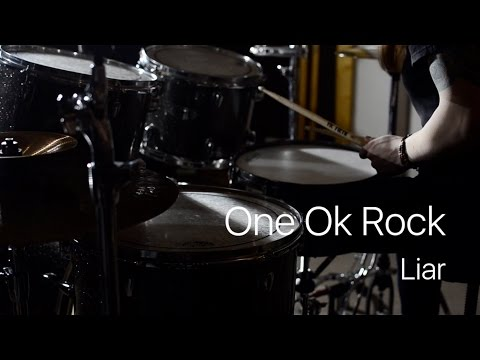 One Ok Rock - Liar (drum cover by Vicky Fates)