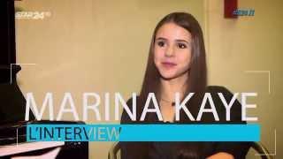 Critiquée par Véronique Sanson, Marina Kaye lui répond !!! Interview de Nicolas Tussing sur Star 24