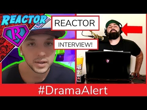 """Reactor Interview! Reactor's Neighbors are MEAN? Keemstar's """"dying ungulate wail"""" intro #DramaAlert"""
