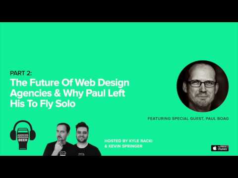 The Future of Web Design Agencies & Why Paul Boag Left His t