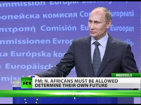 Putin: North Africa must be allowed determine its own future