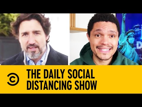 Trudeau Offers To Help Canadian Kids With Their Homework | The Daily Show With Trevor Noah