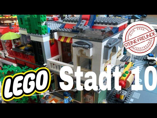 Lego Stadt Update 10/ Neue Häuser für die Fußgängerzone (2)