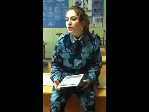 Russian army girl sings 'When we were at war' 'Когда мы были на войне'