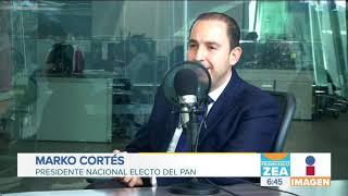 Marko Cortés, pide a Felipe Calderón que deje de lastimar al PAN | Noticias con Francisco Zea