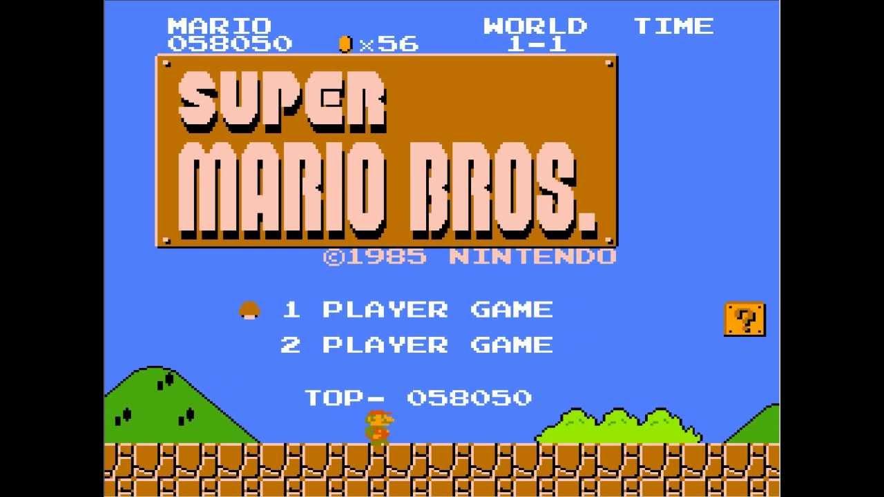 Serie Juegos Antiguos Super Mario Bros Youtube
