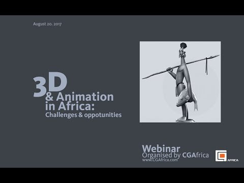 Animation in Africa. Challenges and Opportunities.