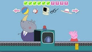 Peppa Pig Holiday Part 5: At the Airport - iPad app demo for kids - Ellie