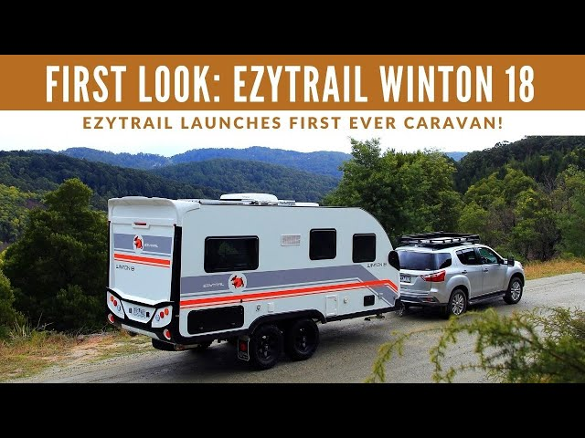 AWESOME INTERIOR! Exclusive First Look at EzyTrail's New Caravan!