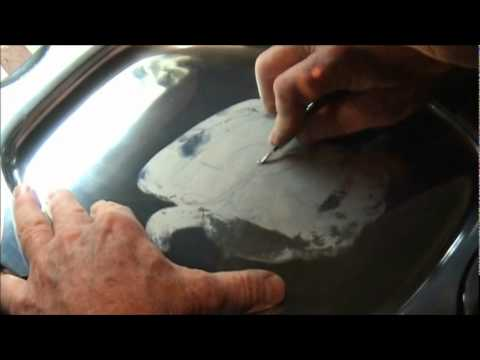 part 2 - Hand Engraving Lettering by Mike Dubber