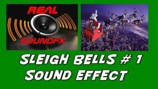 Christmas sleigh bells santa HO HO HO sound effect - realsoundFX