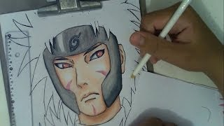 Drawing Tobirama Senju (Nidaime)