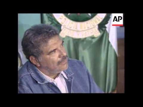 COLOMBIA: BOGOTA: ALLEGED DRUG CARTEL LEADER ARRESTED