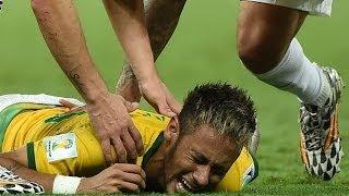 FIFA World Cup 2014 - Neymar's Injury [BONUS]