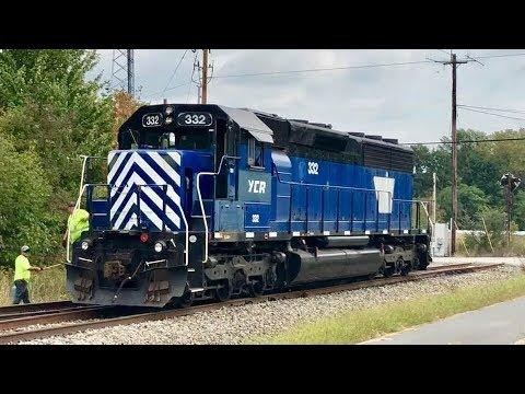 Railway Shunting Action, Scrap Metal Customer, Cincinnati Eastern Railroad